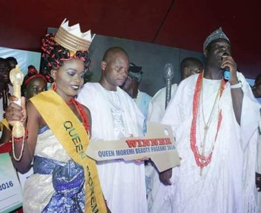 Blessing Animashaun: Winner Of Queen Moremi Beauty Pageant 2016
